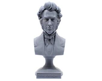 Søren Kierkegaard Danish Existentialist Philosopher, Theologian, and Social Critic 5 inch Bust