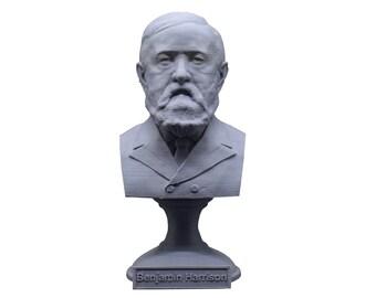 Benjamin Harrison USA President #23 5 inch Bust