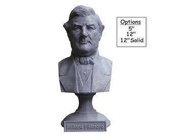 Millard Fillmore USA President #13 5 inch 3D Printed Bust
