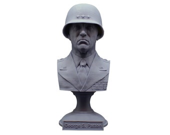 George S. Patton Legendary US Army General 5 Inch Bust