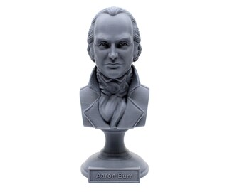 Aaron Burr, American Politician, Lawyer, and Third US Vice President, 5 Inch Bust