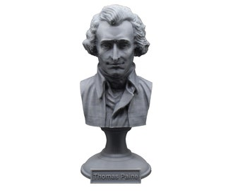 Thomas Paine Founding Father 5 Inch Bust