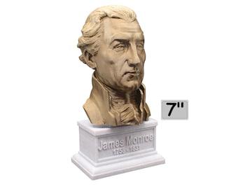 James Monroe USA President #5 7 inch Bust
