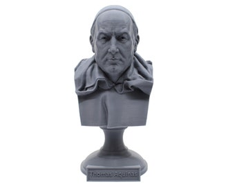 Thomas Aquinas Theologian and Philosopher 5 inch Bust