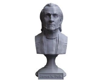 James K. Polk USA President #11 5 inch Bust
