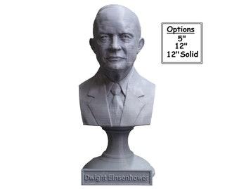 Dwight D. Eisenhower USA President #34 5 inch 3D Printed Bust
