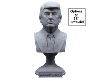 Donald Trump USA President #45 5 inch 3D Printed Bust