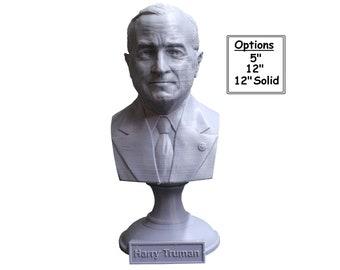 Harry Truman USA President #33 5 inch 3D Printed Bust