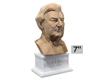 Millard Fillmore USA President #13 7 inch Bust