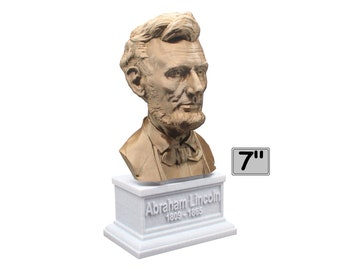 Abraham Lincoln USA President #16 7 inch Bust