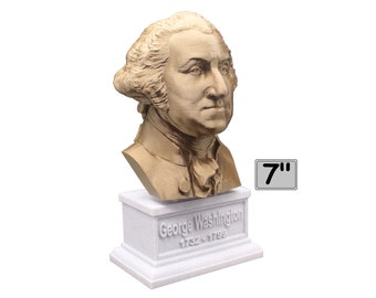 George Washington USA President #1 7 inch Bust