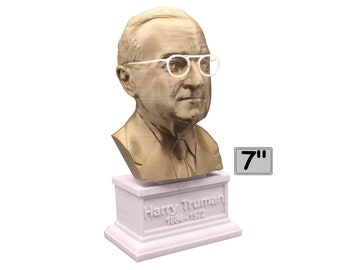 Harry Truman USA President #33 7 inch Bust