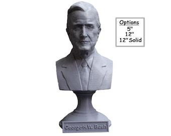George H.W. Bush USA President #41 5 inch 3D Printed Bust