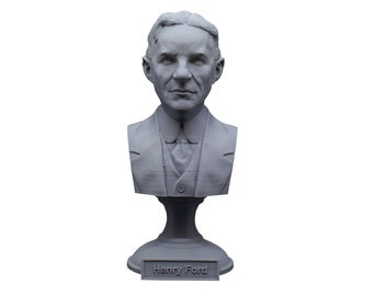Henry Ford American Industrialist and Business Magnate 5 Inch Bust