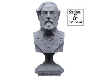 Robert E. Lee American Civil War General USMC 3D Printed Bust