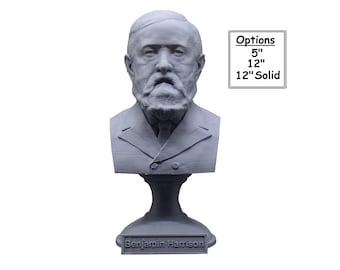 Benjamin Harrison USA President #23 5 inch 3D Printed Bust