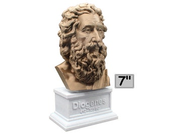 Diogenes The Cynic 7 inch Bust
