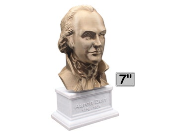 Aaron Burr, American Politician, Lawyer, and Third US Vice President 7 inch Bust