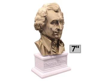 Thomas Paine 7 inch Bust