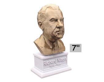 Richard Nixon USA President #37 7 inch Bust
