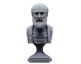 Hippocrates of Kos Greek Physician Father of Medicine 5 Inch Bust