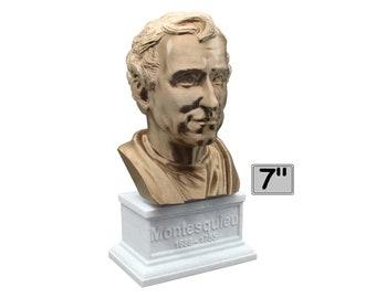 Baron De Montesquieu Enlightenment Philosopher 7 inch Bust
