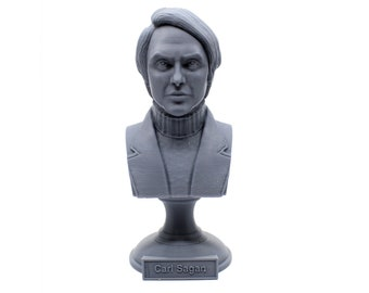 Carl Sagan, American Astronomer, Cosmologist, and Author 5 Inch Bust