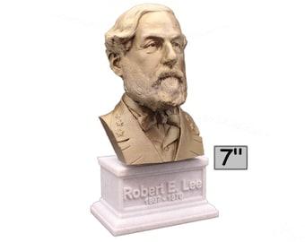 Robert E. Lee American Civil War General 7 inch 3D Printed Bust