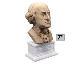 John Jay Founding Father 7 inch Bust