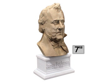 James Buchanan USA President #15 7 inch Bust