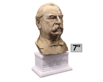 Grover Cleveland USA President #22 7 inch Bust