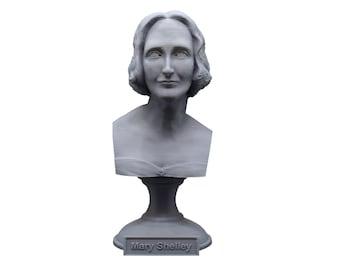 Mary Shelley, English Novelist 5 inch Bust
