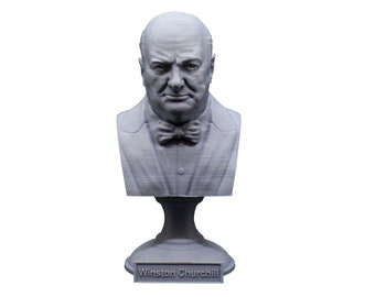 Winston Churchill British Statesman, Army Officer, Writer, and Prime Minister 5 Inch Bust