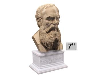 Fyodor Dostoevsky Russian Novelist, Philosopher, and Short Story Writer 7 inch Bust