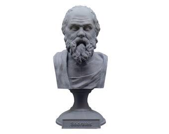 Socrates Greek Philosopher 5 inch Bust