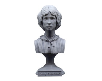 Emily Dickinson American Poet 5 inch Bust