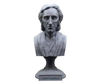 John Locke English Philosopher and Physician 5 inch Bust