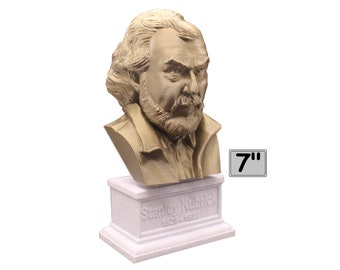 Stanley Kubrick American Film Director, Producer, Screenwriter, and Photographer 7 inch Bust