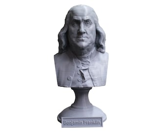 Benjamin Franklin Founding Father 5 Inch Bust