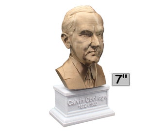 Calvin Coolidge USA President #30 7 inch Bust