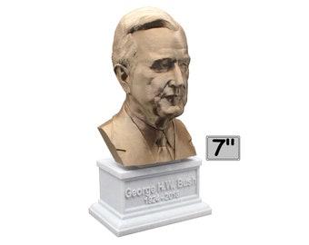 George H.W. Bush USA President #41 7 inch Bust