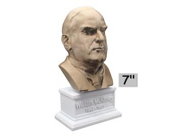 William McKinley USA President #25 7 inch Bust