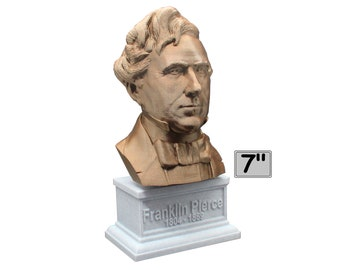 Franklin Pierce USA President #14 7 inch Bust