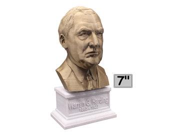 Warren G. Harding USA President #29 7 inch Bust