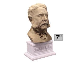 Chester A. Aurthur USA President #21 7 inch Bust