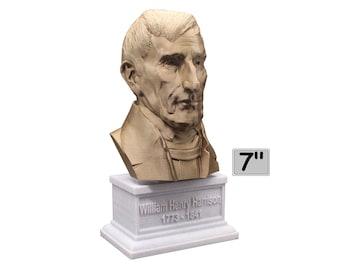 William Henry Harrison USA President #9 7 inch Bust