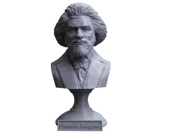 Frederick Douglass American Social Reformer, Abolitionist, Orator, Writer, and Statesman 5 Inch Bust