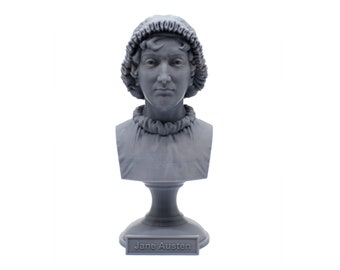 Jane Austen Famous English Novelist 5 inch Bust