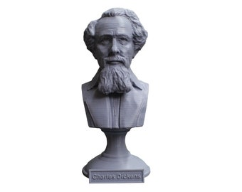 Charles Dickens English Writer and Social Critic 5 inch Bust
