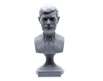 D.H. Lawrence British Writer and Poet 5 inch Bust